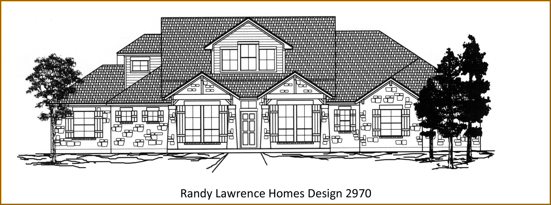 Randy Lawrence Homes Floor Plan 3257