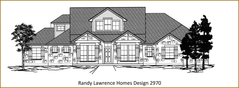 Randy Lawrence Homes Floor Plan 3257