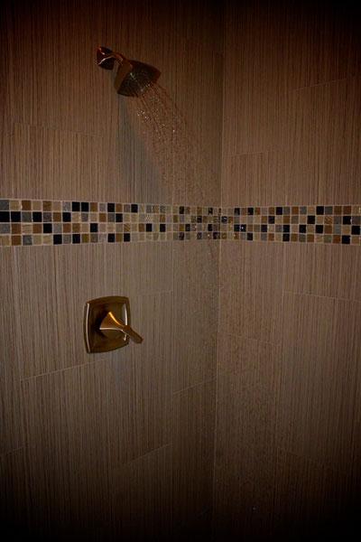 Shower Tile Detail